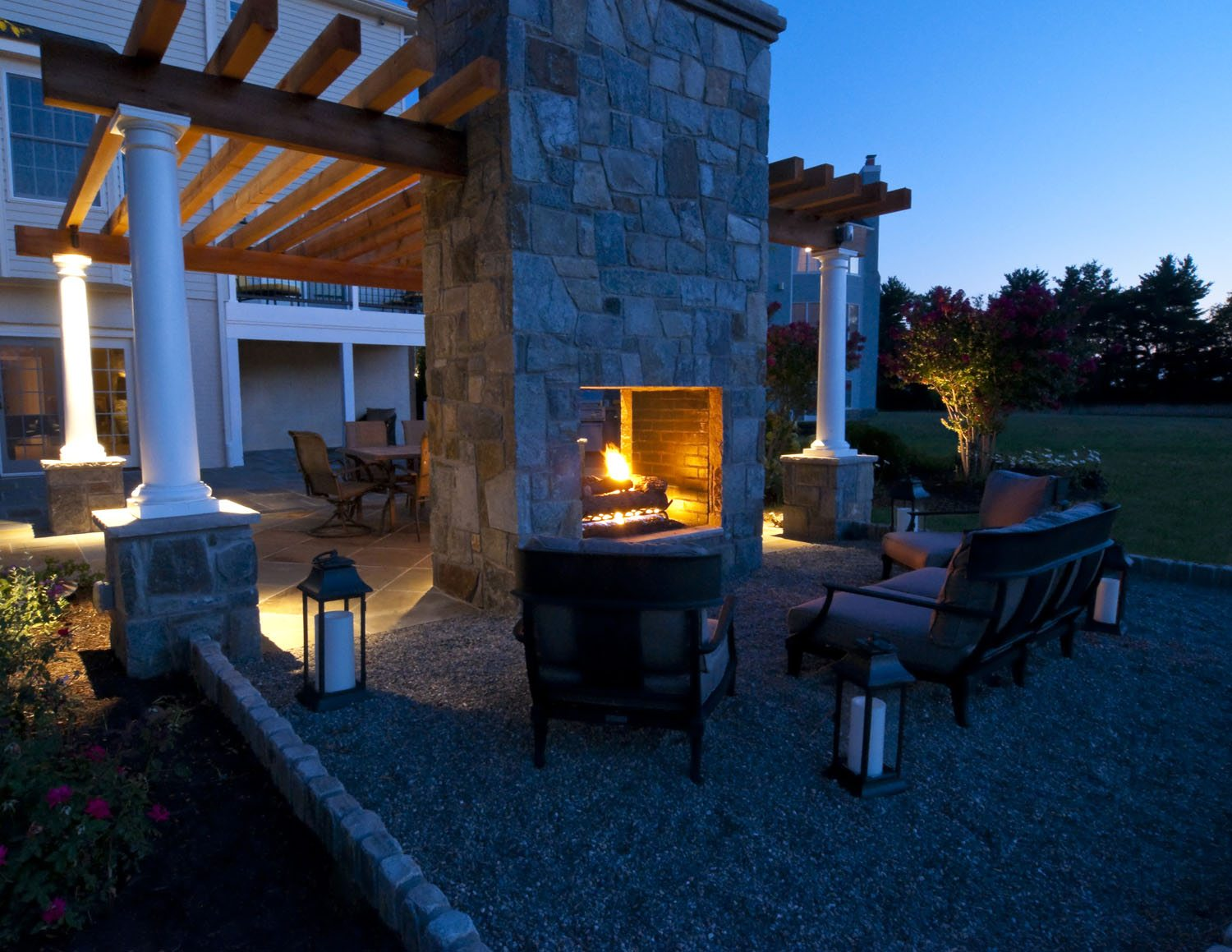 Autumn Night Fire Pit : Fall nights are better around a fire pit clearwater